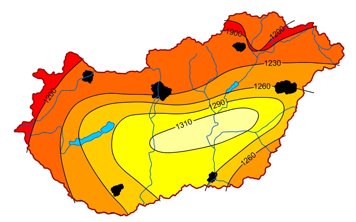 Magyarország sugárzásviszonya