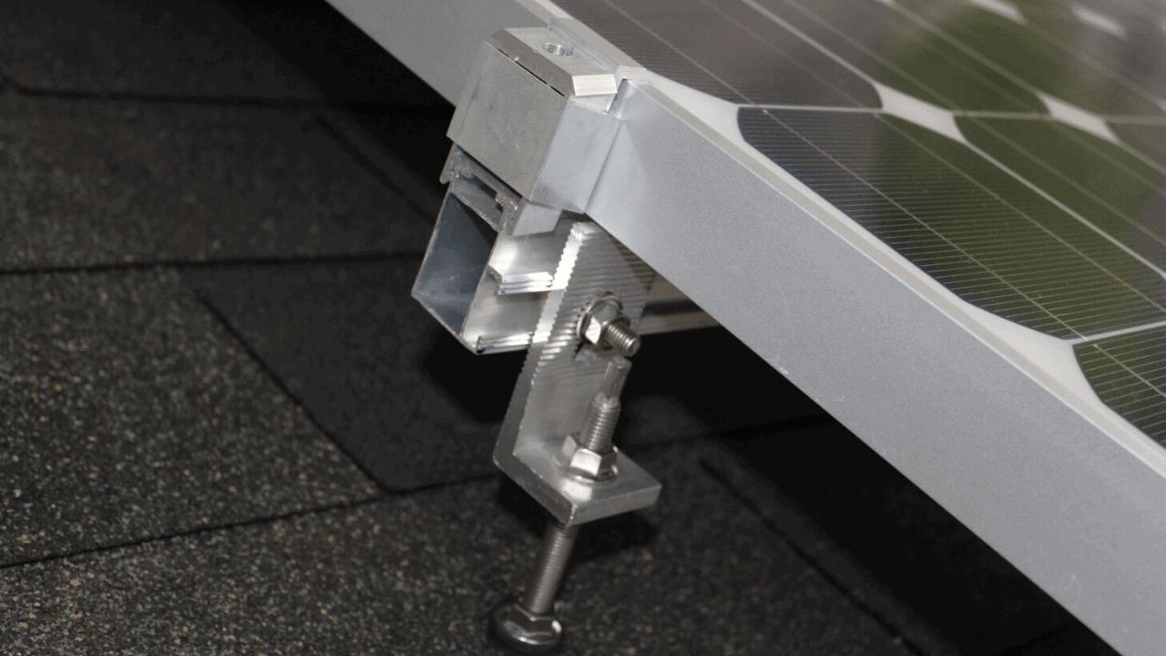 napelem panel tartószerkezet