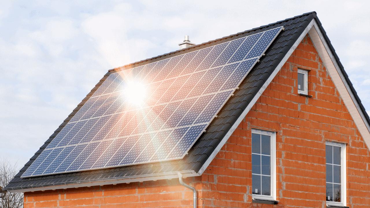 napelemek házon