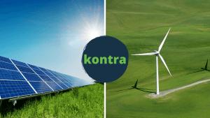 napelem szélerőmű különbség
